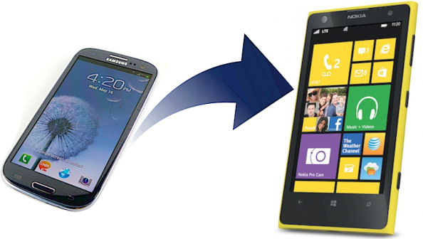 Android to Windows Phone